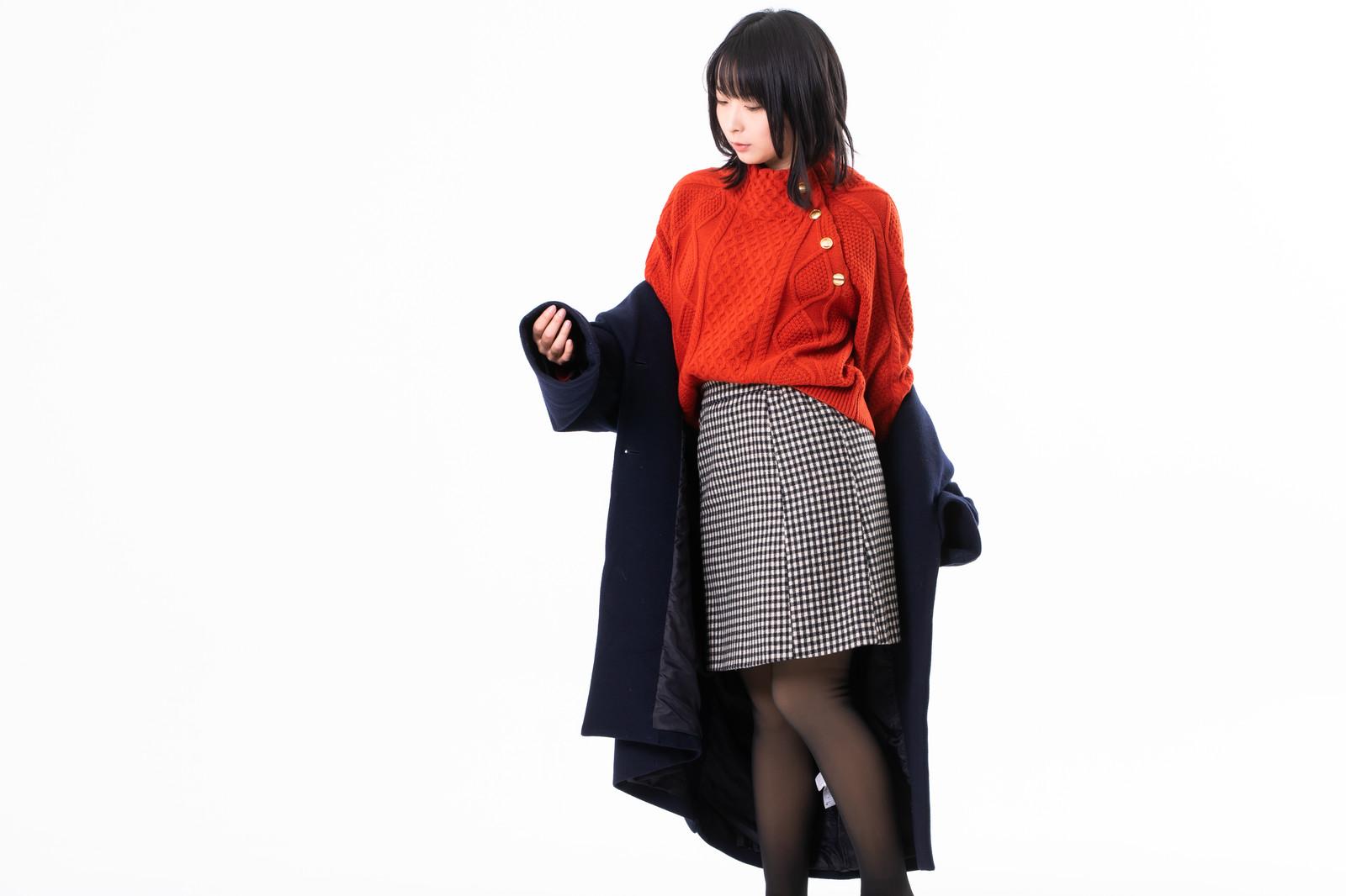 秘書の冬ファッション
